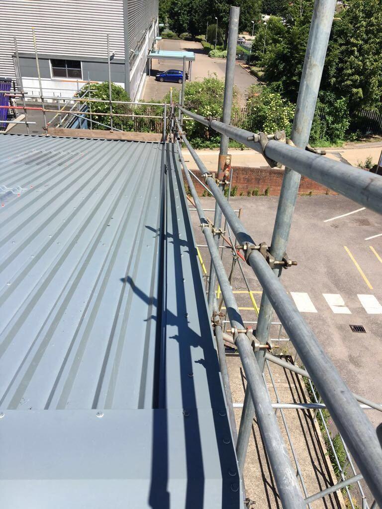 Roofing Case Study Carringtons Building Amp Civil